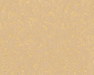Architects Paper Wallpaper «Uni, Beige, Gold, Metallic» 306603
