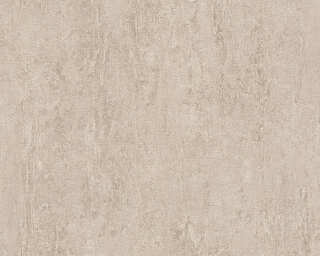 Daniel Hechter Wallpaper «Uni, Beige, Brown» 306693