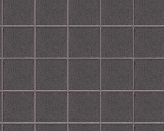 Architects Paper Wallpaper «Graphics, Grey, Metallic, Purple» 306721