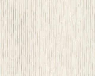 Daniel Hechter Wallpaper «Uni, Beige, White» 306862