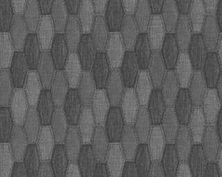 A.S. Création Обои «Графика, Металлик, Черные» 306934