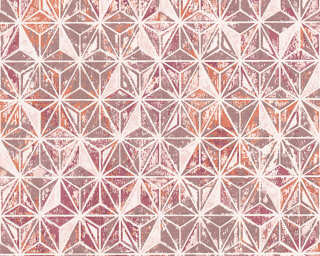 Lutèce Wallpaper «Graphics, Beige, Copper, Metallic, Orange» 307051