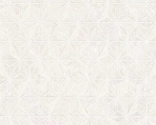 Lutèce Обои «Графика, Кремовые, Металлик, Серыe» 307052