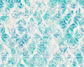 Lutèce Обои «Графика, Белые, Серыe, Синие» 307054