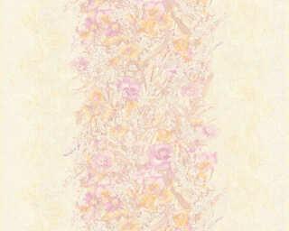 ORIGINALS Tapete «Blumen, Gelb, Violett» 307191
