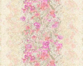 ORIGINALS Tapete «Blumen, Bunt, Violett» 307192