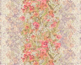 ORIGINALS Tapete «Blumen, Bunt, Metallics, Silber» 307194
