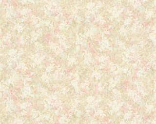 ORIGINALS Tapete «Blumen, Grün, Metallics, Rot, Silber» 307402