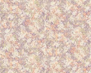 ORIGINALS Tapete «Floral, Bunt, Metallics, Silber, Violett» 307404
