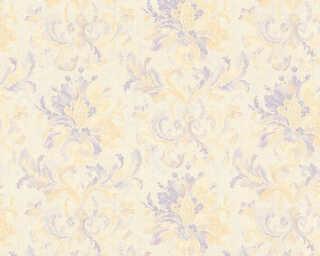 ORIGINALS Tapete «Blumen, Beige, Metallics, Violett» 307413