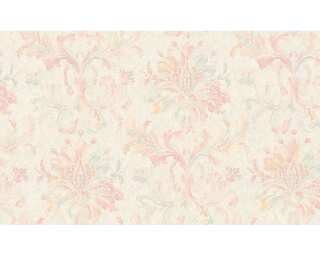 ORIGINALS Tapete «Blumen, Grau, Metallics, Rot» 307414