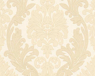A.S. Création Wallpaper «Baroque, Beige, Cream, Gold, Metallic» 307541