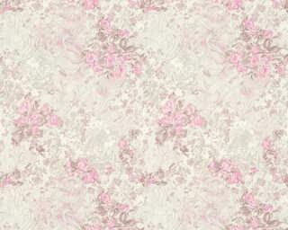 ORIGINALS Обои «Деревенский стиль, Флора, Белые, Коричневыe, Розовые» 318702