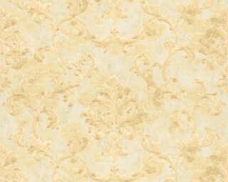 ORIGINALS papier peint «Maison, crème, jaune, métallique, or» 318752