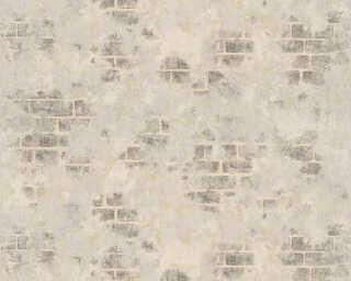 ORIGINALS papier peint «Maison, argent, gris, marron, métallique» 318764