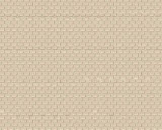 Architects Paper Wallpaper «Graphics, Beige, Metallic» 319085