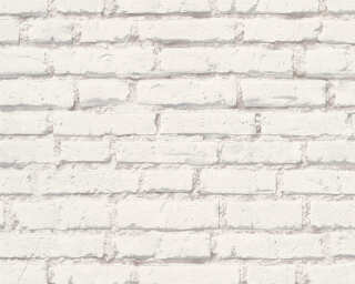 A.S. Création Wallpaper «Stone, Grey, White» 319431