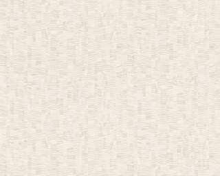 Lutèce Обои «Графика, Бежевые, Белые, Металлик» 319483