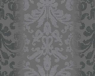 A.S. Création Tapete «Barock, Grau, Metallics, Schwarz, Silber» 319951
