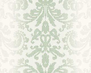 A.S. Création Tapete «Barock, Grün, Metallics, Weiß» 319952