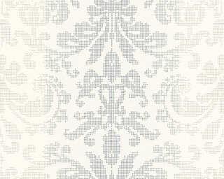 A.S. Création Tapete «Barock, Grau, Metallics, Weiß» 319953