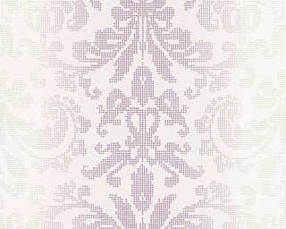 A.S. Création Tapete «Barock, Creme, Metallics, Violett» 319954