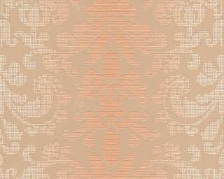 A.S. Création Tapete «Barock, Braun, Metallics, Orange» 319956