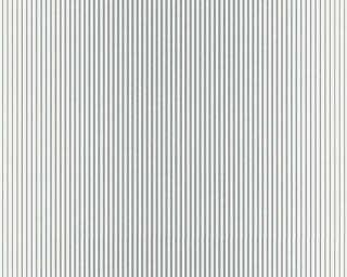 A.S. Création Tapete «Streifen, Grau, Metallics, Weiß» 319961