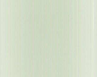 A.S. Création Tapete «Streifen, Grün, Metallics, Weiß» 319962