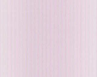 A.S. Création Tapete «Streifen, Metallics, Violett, Weiß» 319963
