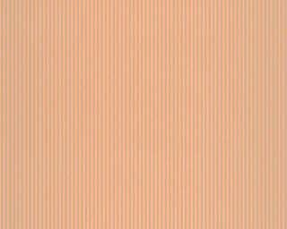 A.S. Création Tapete «Streifen, Braun, Metallics, Orange» 319964