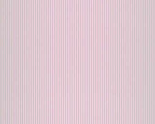 A.S. Création Tapete «Streifen, Grau, Metallics, Violett» 319965