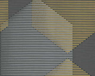 A.S. Création Wallpaper «Graphics, Black, Coloured, Gold, Metallic» 319974