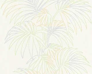 A.S. Création Tapete «Floral, Bunt, Metallics, Weiß» 319983