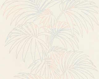 A.S. Création Tapete «Floral, Bunt, Metallics, Weiß» 319984