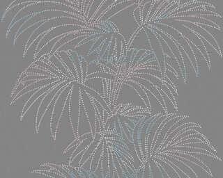 A.S. Création Tapete «Floral, Bunt, Grau, Metallics» 319985