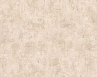 A.S. Création Wallpaper «Uni, Beige, Brown» 321372