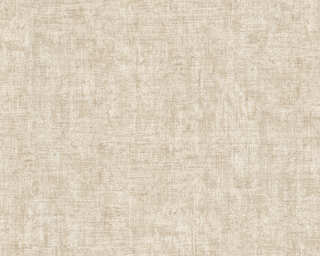 A.S. Création Wallpaper «Uni, Brown, Cream, Metallic, Silver» 322613
