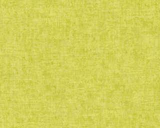 A.S. Création papier peint «Uni, argent, métallique, vert» 322615