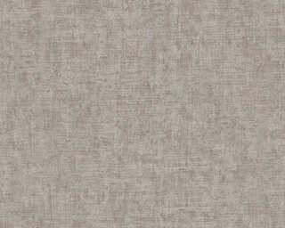 A.S. Création Wallpaper «Uni, Brown, Metallic, Silver» 322616