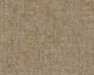 A.S. Création papier peint «Uni, argent, marron, métallique» 322617