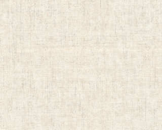 A.S. Création Wallpaper «Uni, Beige, Cream, Metallic, Silver» 322618