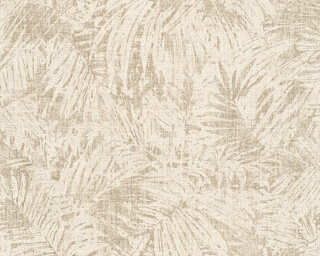 A.S. Création Tapete «Floral, Beige, Creme, Metallics, Silber» 322632