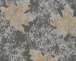 A.S. Création Wallpaper «Floral, Gold, Grey, Metallic, Silver» 322643