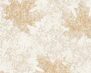 A.S. Création non-woven wallpaper «Floral, Beige, Cream, Gold, Metallic» 322644