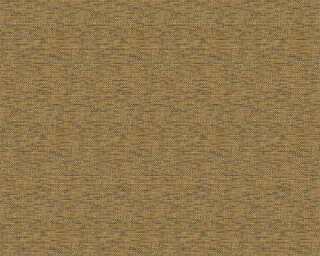 ORIGINALS papier peint «Uni, jaune, métallique, noir, or» 324245