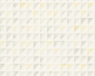 Schöner Wohnen Wallpaper «Graphics, Grey, White, Yellow» 324562