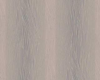 A.S. Création papier peint «Uni, argent, gris, marron, métallique» 324732