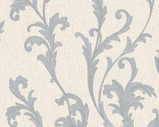 A.S. Création papier peint «Baroque, argent, crème, gris, métallique» 324763