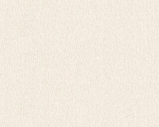 A.S. Création Wallpaper «Uni, Cream, Metallic, White» 324781